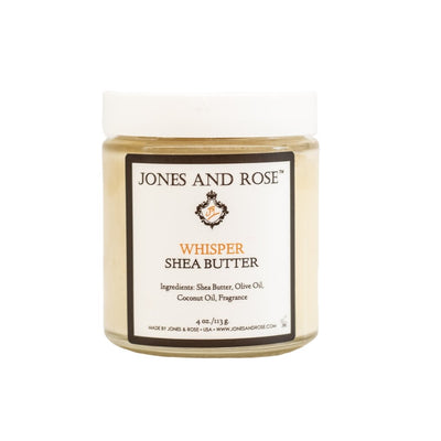 Whisper Shea Butter - Jones and Rose