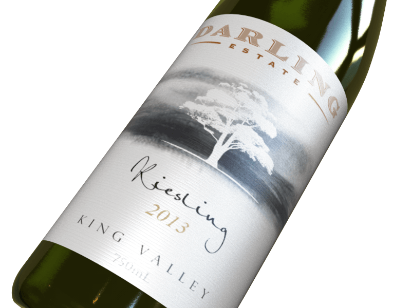 Darling Estate 2013 Riesling wine