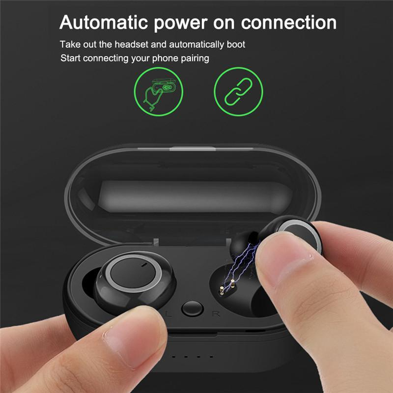 Smart Touch Control Earbuds