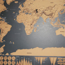 Load image into Gallery viewer, Deluxe Edition World Scratch Map