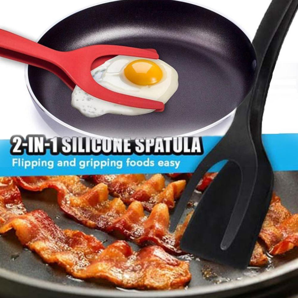 2-in-1 Grip And Flip Spatula