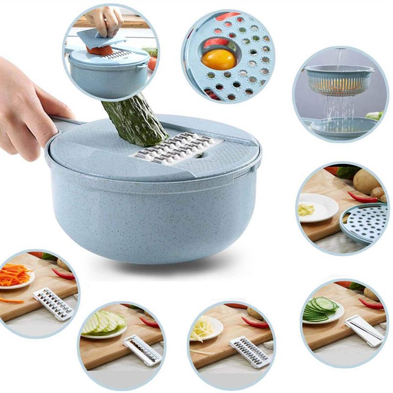 Multipurpose vegetable cutter and  shredder