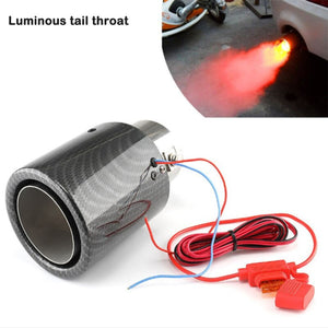 Car Exhaust Muffler Pipe Tip With LED Light