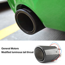 Load image into Gallery viewer, Car Exhaust Muffler Pipe Tip With LED Light