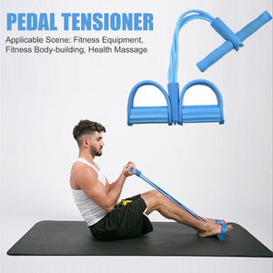Indoor Fitness Resistance Bands