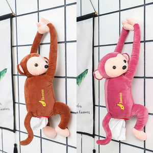 Creative Monkey Tissue Box