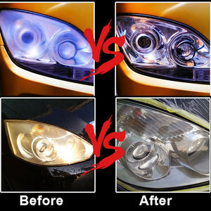 Quick Car Headlight Cleaning Polish