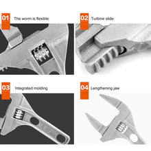 Load image into Gallery viewer, Super Wide Adjustable Monkey Wrench
