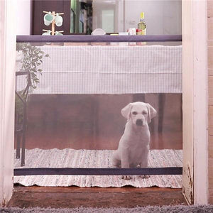 Portable Pet gate safe guard