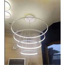 Load image into Gallery viewer, Indoor Modern Circular Ring Chandelier