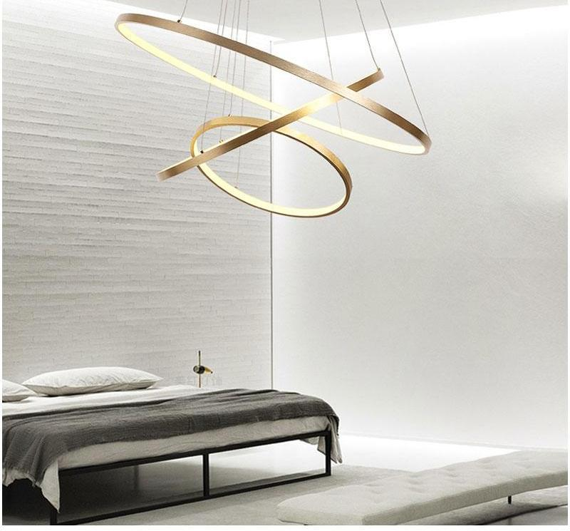 Indoor Modern Circular Ring Chandelier