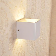 Load image into Gallery viewer, Modern LED Up Down Cube Wall Lamp