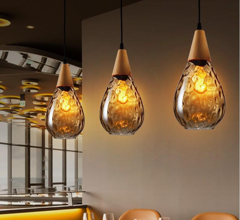 Sergia Modern Nordic Light - Drop Glass Pendant series