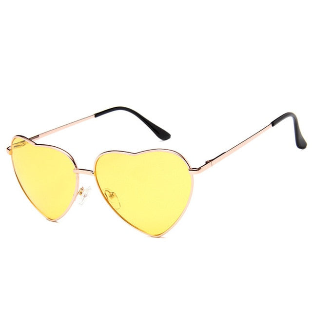 Brodlyn Heart Sunglasses