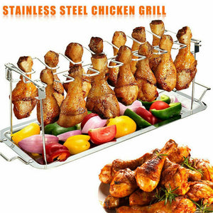 BBQ Chicken Holder - 14 Slots