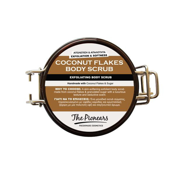 COCONUT FLAKES BODY SCRUB 150ML - Body Scrub - Exfoliating