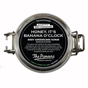 HONEY, IT'S BANANA O'CLOCK - BODY CHEESECAKE SCRUB 200ML