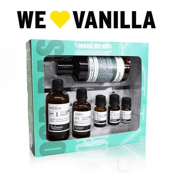 VANILLA TOUCH BATH GEL 200ML - Ηydration & Freshness