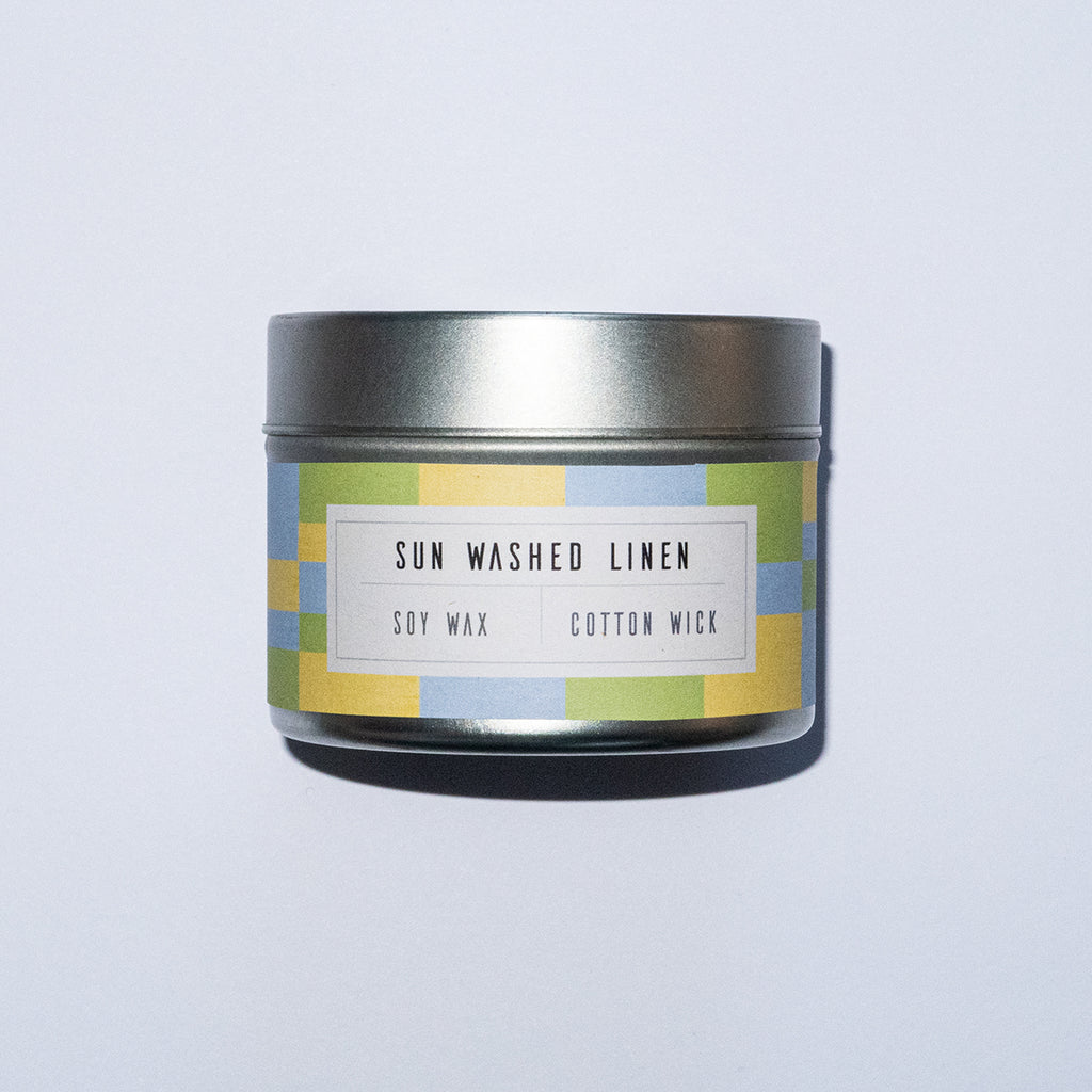Suns out, washings out! On a rainy day, light this scent up for top notes of pine and lemon that are undertoned by middle notes of jasmine and gardena. Musk is introduced in the base notes with a hint of cedarwood.