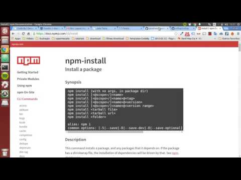 How to use NPM in the Race! - JS - CBY
