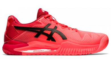 Asics Gel-Resolution 8 Men's Sunrise Red/Eclipse Black