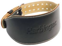 "CEINTURE EN CUIR HARBINGER 6"" - 6"" HARBINGER PADDED LEATHER BELT"
