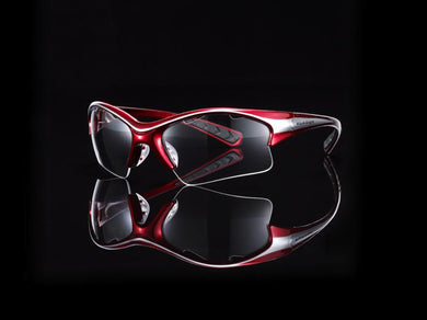 Eyeguards Stilletto Red/Silver