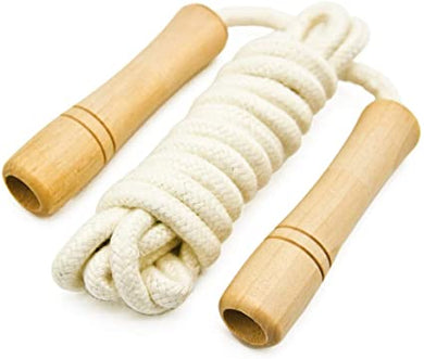 CORDE A SAUTER AVEC ROULEMENTS - COTTON SKIPPING ROPE