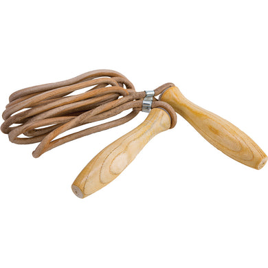 CORDE A SAUTER EN CUIR - Leather Skipping Rope