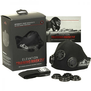 TRAINING MASK 2.0 BLACKOUT EDITION