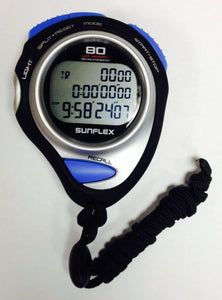 TRIPLE ROW PROFESSIONAL STOPWATCH