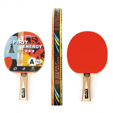 PALETTE DE PING-PONG 3 ÉTOILES - 3 STAR TABLE TENNIS PADDLE: SPIRIT ENERGY