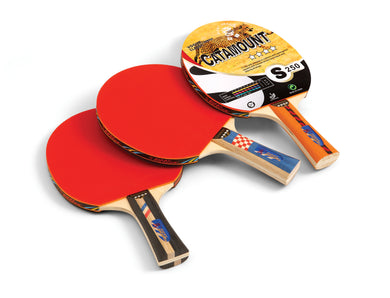 PALETTE DE PING-PONG 4 ÉTOILES - 4 STAR TABLE TENNIS PADDLE: CATAMOUNT