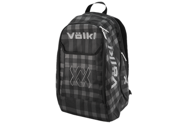 VOLKL BACKPACK BLACK/PLAID