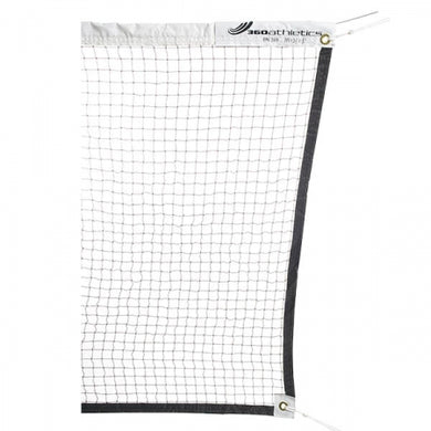 FILET DE BADMINTON EN NYLON AVEC CIBLE - 20' - Badminton Tournament Net - Cable Top