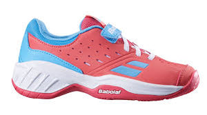 BABOLAT PULSION ALL COURT JR (Pink/Sky Blue)