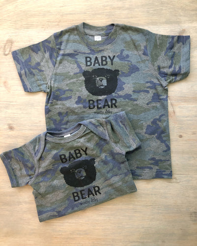Baby Bear Camo Tee Toddler