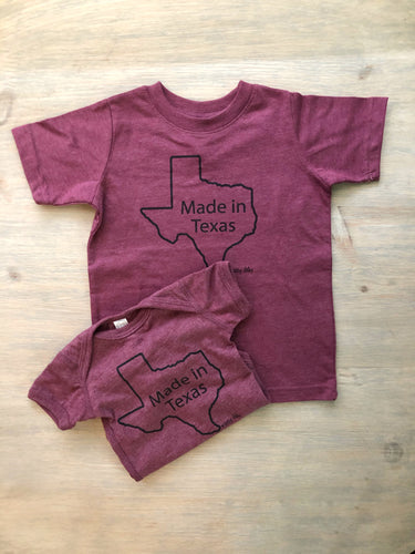 Made In Texas Tee Toddler