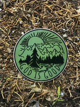 Load image into Gallery viewer, God Is Good Sticker Military Green