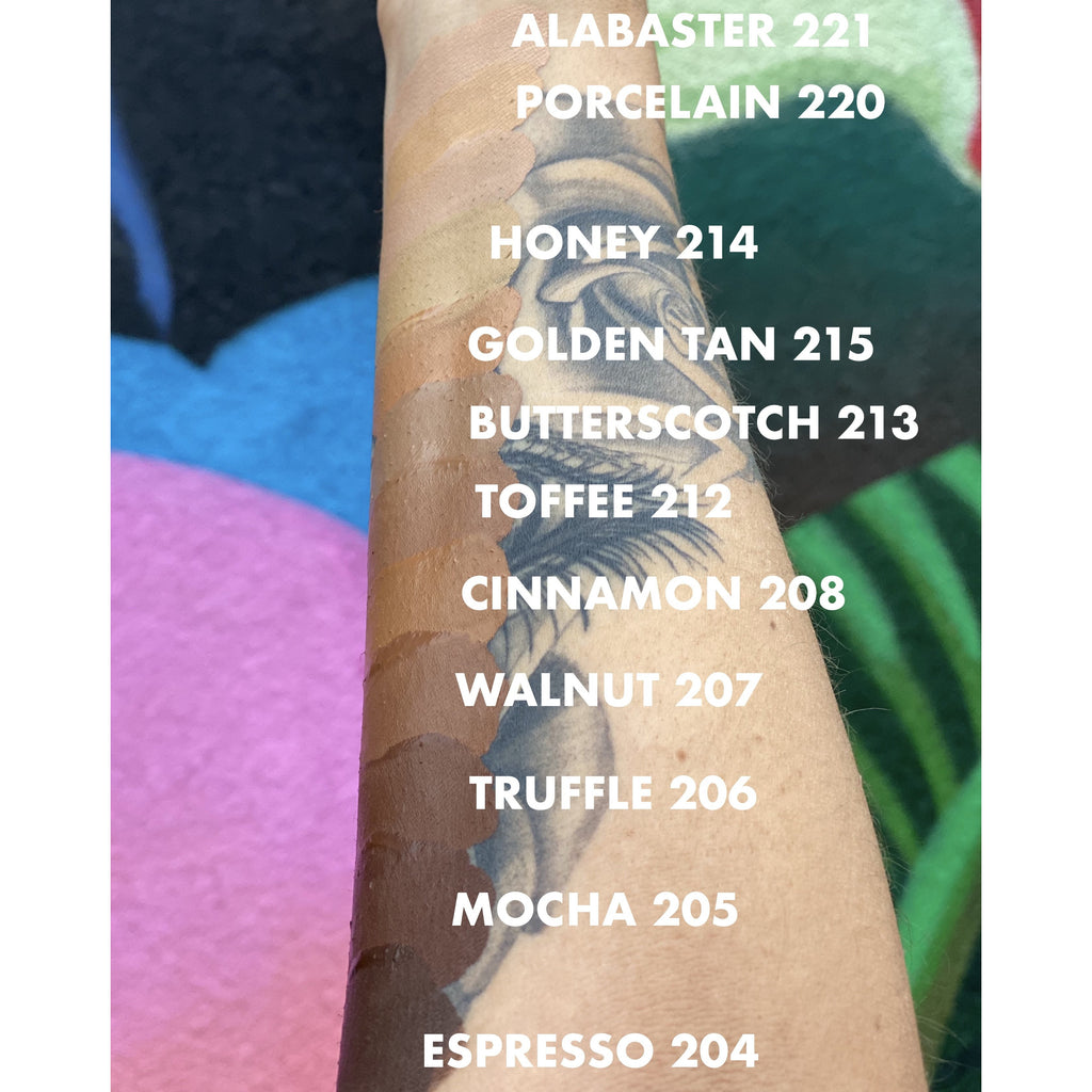 212 Toffee pH Beauty Brand Foundations