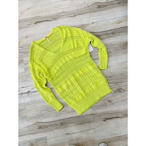 Free People Limelight Combo Knitted Sweater