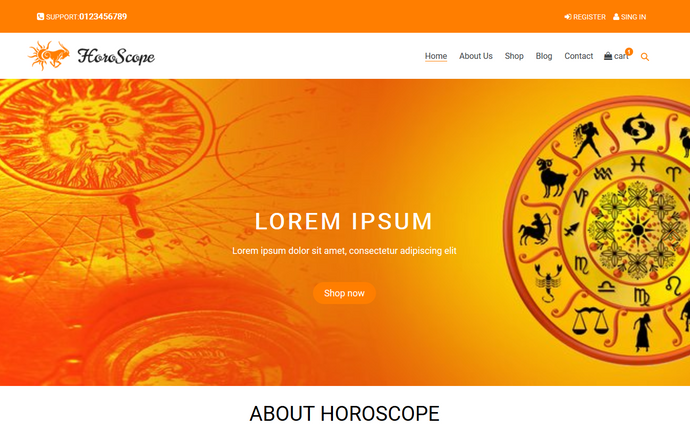 Horoscope Shop