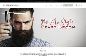 Beard Shop Shopify Theme