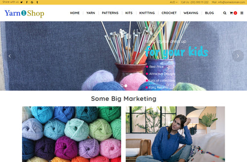 Yarn Shop Shopify Theme