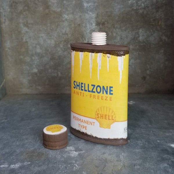 "Porcelain ""Shellzone (Yellow Version)"" Flask 4oz (Edition of 40)"