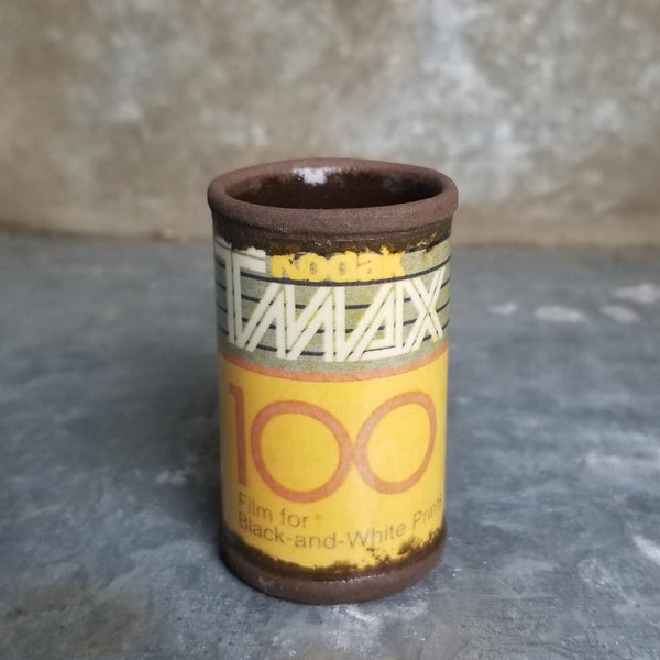 "Porcelain ""TMAX"" Shot Glass 1oz"