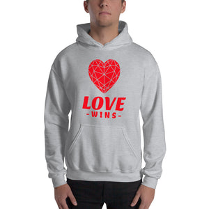 Love Wins  Unisex Heavy Blend Hooded Sweatshirt