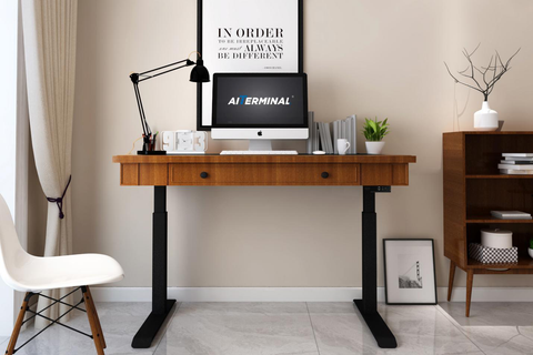Standing Desk with Drawer for Productive Office Ideas