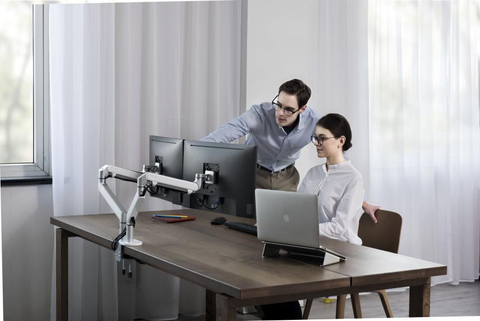 Monitor Arm for Productive Office Ideas