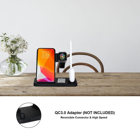 4-in-1 Wireless Charger for Productive Home Office